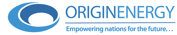 Origin Energy logo - Empowering nations for the future...